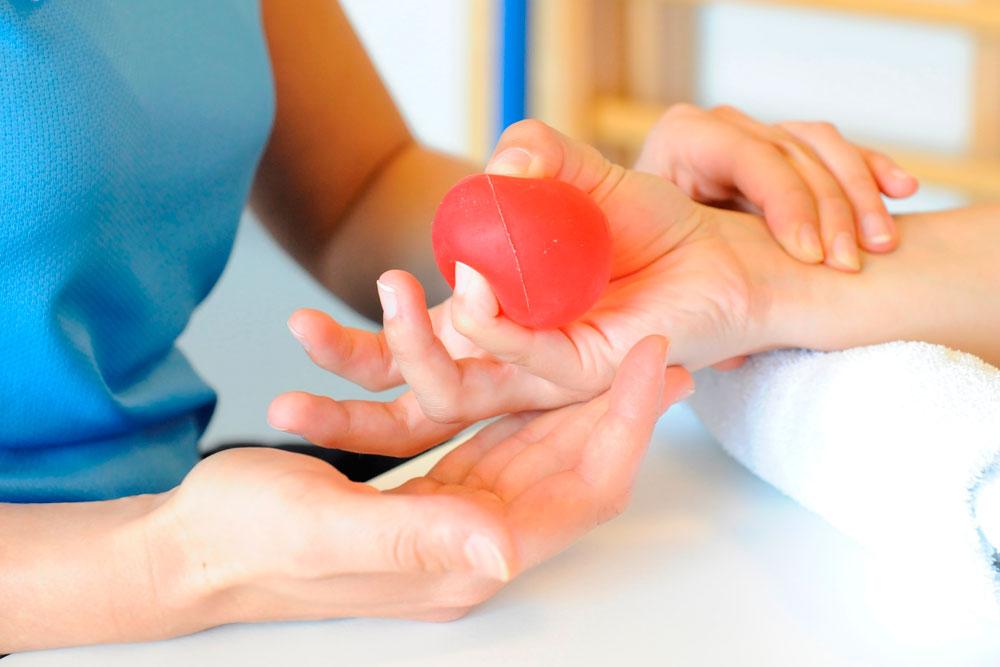 Ergotherapie Handtherapie