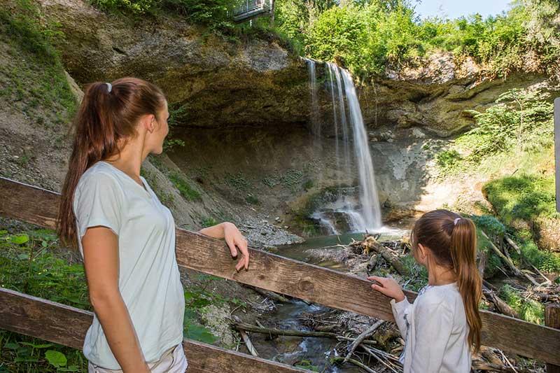 Ausflug Wasserfall