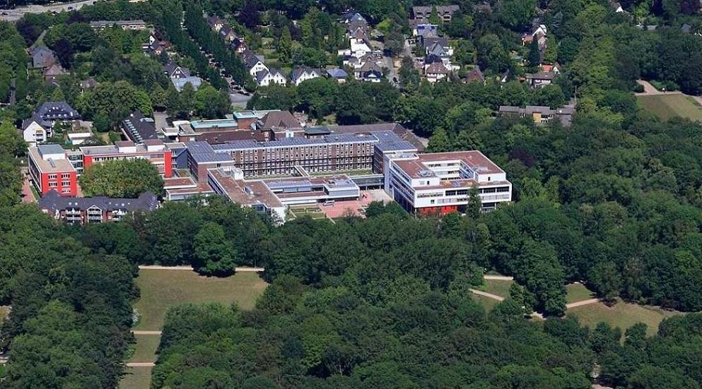 Luftbild Rehaklinik Berger See