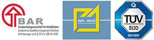 Zertifizierungen Balzerborn Kliniken