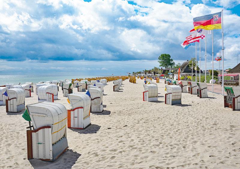 Am wunderschönen Strand