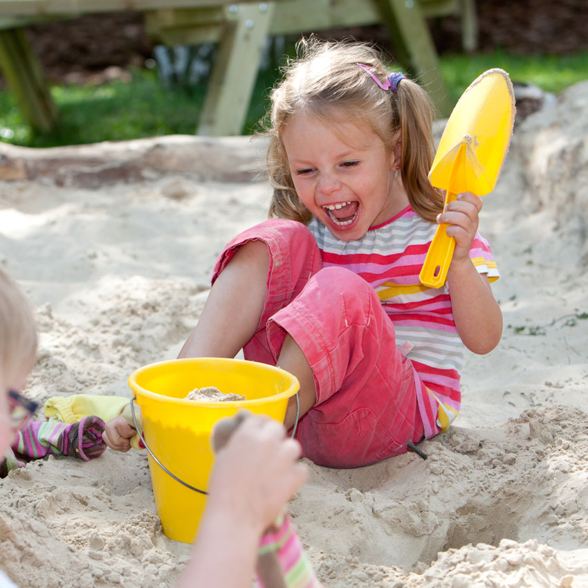 Spielen im Sand