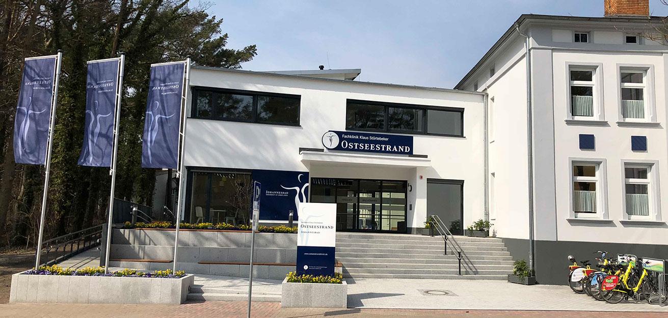 Johannesbad Fachklinik Ostseestrand Klaus Störtebeker