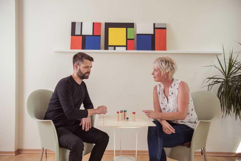 Therapeuten Gespräch